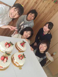 計りのいらないお菓子教室 happy sweets studio 生徒