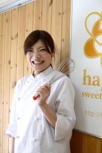 計りのいらないお菓子教室 happy sweets studio パティシエール美希