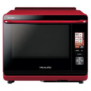 パティシエおすすめオーブン シャープ ウォーターオーブン ヘルシオ(HEALSIO) 30L 2段調理 レッド AX-XP200-R